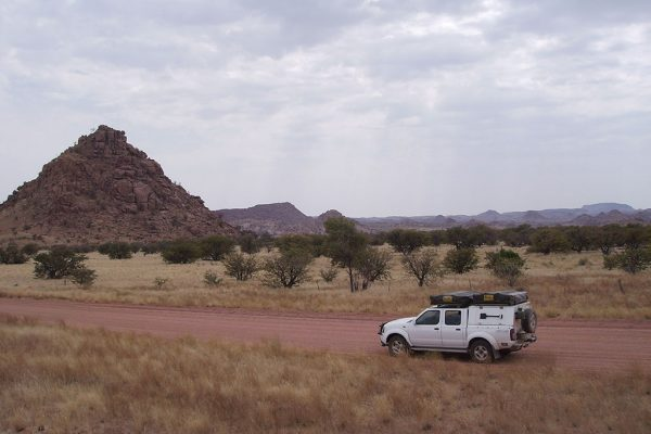 Namibia-Steppe