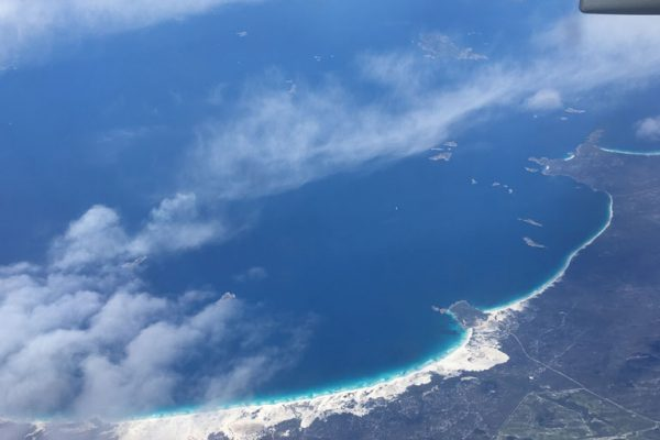 Überflug Australien
